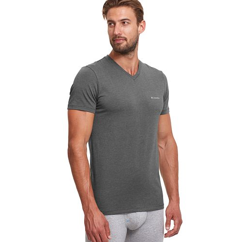 dfe53027fda Men's Columbia 2-pack Omni-Wick Stretch Performance V-Neck Tee