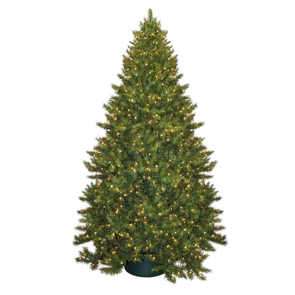 pre lit montana pine artificial christmas tree - Pine Christmas Tree