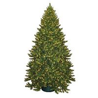 General Foam Plastics 9-ft. Pre-Lit Montana Pine Artificial Christmas Tree