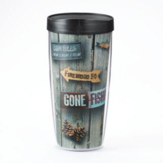 "Signature Tumblers Traveler ""Welcome To the Cabin"" 16-oz. Insulated Tumbler"