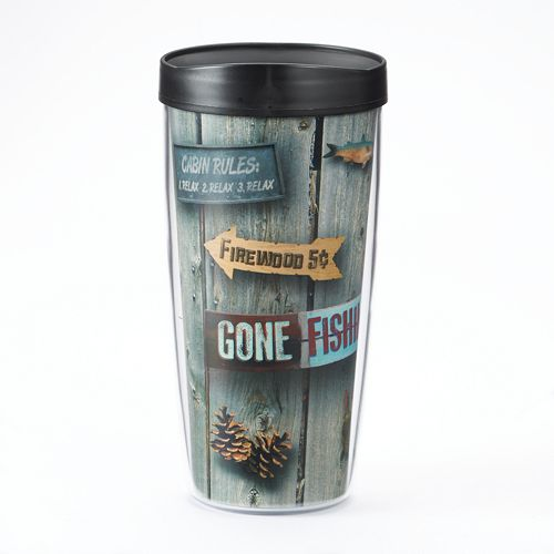 """Signature Tumblers Traveler """"Welcome To the Cabin"""" 16-oz. Insulated Tumbler"""