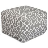 Majestic Home Goods Athens Indoor / Outdoor Pouf Ottoman