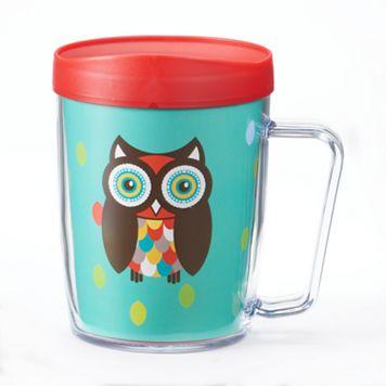 Signature Tumblers Monday Coffee Owl 18-oz. Insulated Coffee Mug