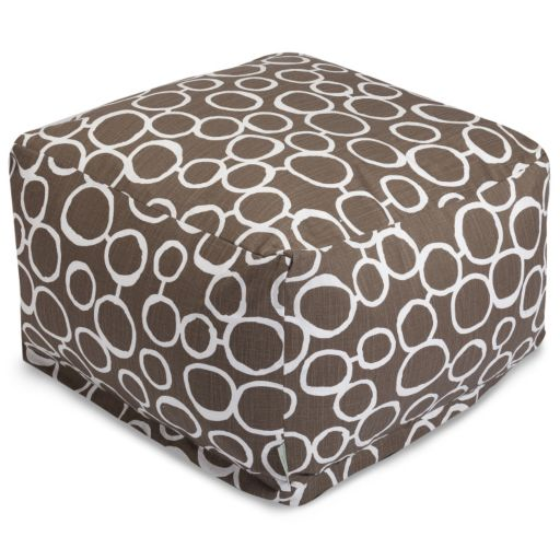 Majestic Home Goods Fusion Pouf Ottoman