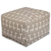 Majestic Home Goods Stretch Pouf Ottoman