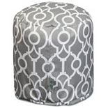 Majestic Home Goods Athens Indoor / Outdoor Small Pouf Ottoman