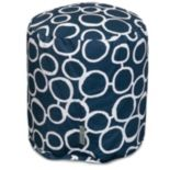 Majestic Home Goods Fusion Small Pouf Ottoman