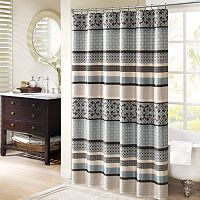 Madison Park Harvard Jacquard Shower Curtain