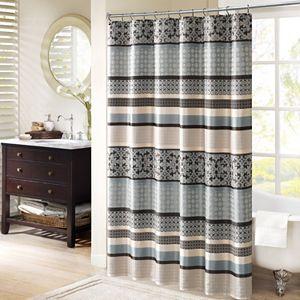 Home ClassicsR Shalimar Dragonfly Fabric Shower Curtain