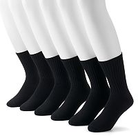 Men's Dockers 6-pack Value Cushioned Crew Socks