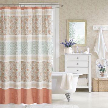 Madison Park Vanessa Cotton Shower Curtain