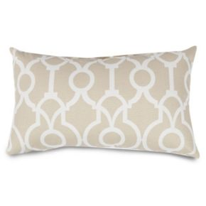 Majestic Home Goods Athens Indoor / Outdoor Oblong Throw Pillow