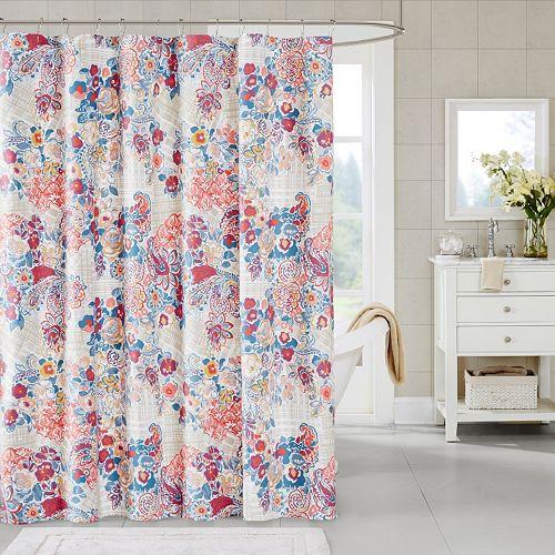 Madison Park Raylene Shower Curtain
