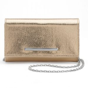 Lenore by La Regale Shimmer Roll Clutch