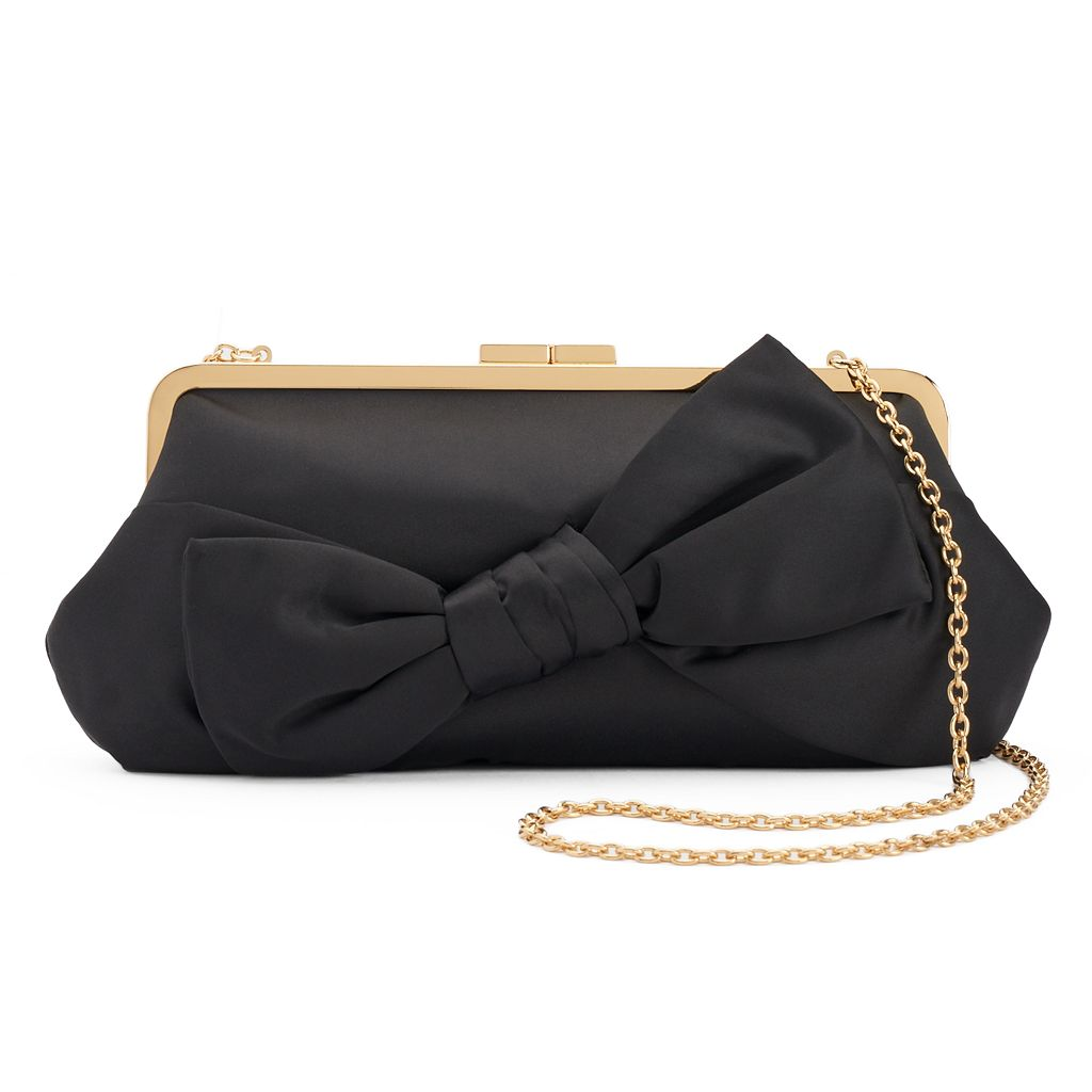 Lenore by La Regale Bow Clutch