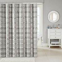 Madison Park Matteo Jacquard Shower Curtain