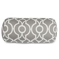 Majestic Home Goods Athens Indoor / Outdoor Round Bolster Pillow