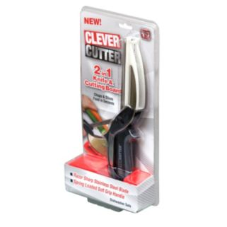 As Seen on TV Clever Cutter 2-in-1 Knife & Cutting Board