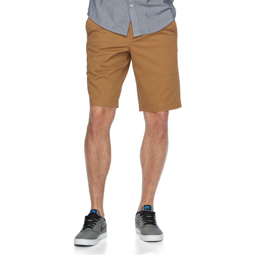 Urban Pipeline® MaxFlex Twill Flat-Front Shorts