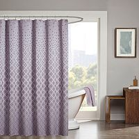 Madison Park Jacquard Shower Curtain