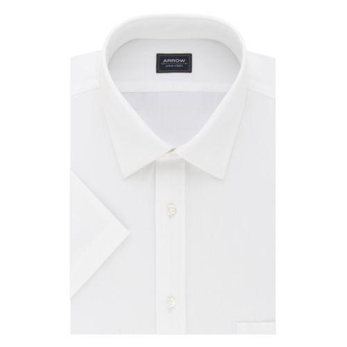 Men's Arrow Regular-Fit Spread-Collar Dress Shirt