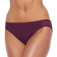Women's Apt. 9® Crochet Scoop Bikini Bottoms