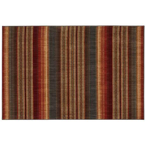 Mohawk® Home Heritage Canoe SmartStrand Striped Rug