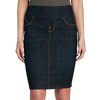 Women's Rock & Republic® Wide Waistband Jean Skirt
