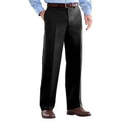 Big & Tall Croft & Barrow® Easy-Care Classic-Fit Stretch Flat-Front Pants