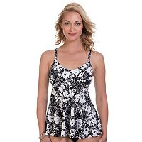 Women's Upstream Underwire Floral Tankini Top