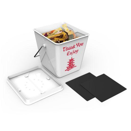 Fred & Friends Takeout 3-Gallon Compost Bin