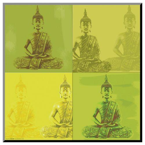 Art.com Buddha Quad Wall Art