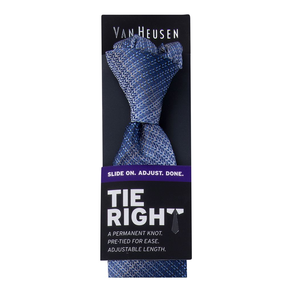 Men's Van Heusen Tie Right Patterned Pre-Tied Tie