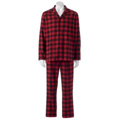 Mens Red Flannel Sleepwear, Clothing | Kohl's