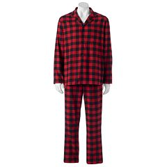 Mens Red Flannel Sleepwear, Clothing | Kohl's