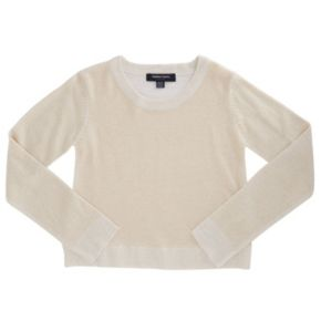 Girls 4-6x French Toast Marled Lurex Sweater