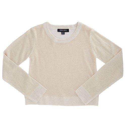 Girls 4-6x French Toast Marled Lurex Sweater