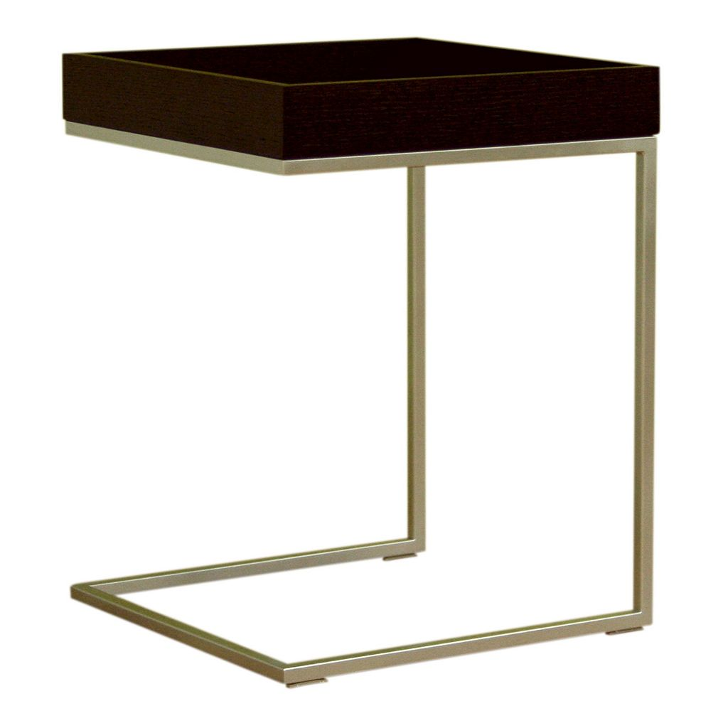 Baxton Studio C-Shaped End Table