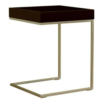 Baxton Studio C-Shaped End Table