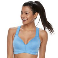 FILA SPORT® Bras: Performance Running Keyhole High-Impact Sports Bra