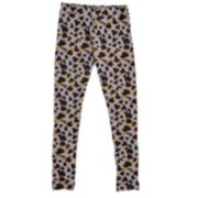 Girls 4-6x French Toast Leopard Heart Leggings