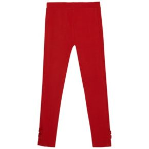 Girls 4-6x French Toast Bow Leggings
