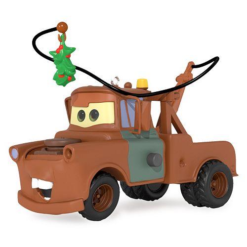 Disney / Pixar Cars Mistletoe Mater 2016 Hallmark Keepsake Christmas Ornament