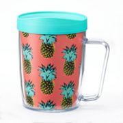 Signature Tumblers Monday Coffee Pineapple 18-oz. Insulated Coffee Mug
