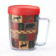 Signature Tumblers Monday Coffee Cabin Quilt 18-oz. Insulated Coffee Mug