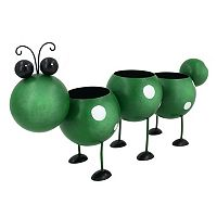 Celebrate Spring Together Indoor / Outdoor Metal Caterpillar Planter