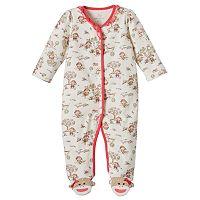 Baby Girl Baby Starters Sock Monkey Sleep & Play