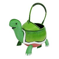 Celebrate Spring Together Indoor / Outdoor Metal Turtle Watering Can