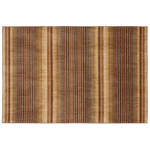 Mohawk® Home Heritage Knotts Blanket SmartStrand Striped Rug