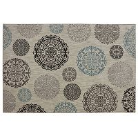 Mohawk® Home Reflections Dragonfly Medallion SmartStrand Rug